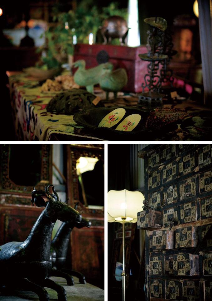 N's collection / 中国 / インド / ベトナム / チベット / 古道具 / アンティーク / 家具 / 雑貨 / 道具