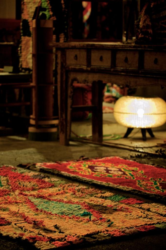 Remza レムザ / イベント / maroc / ボ・シャルウィット / モロッコ / 絨毯 / ラグ / dodo / utatane